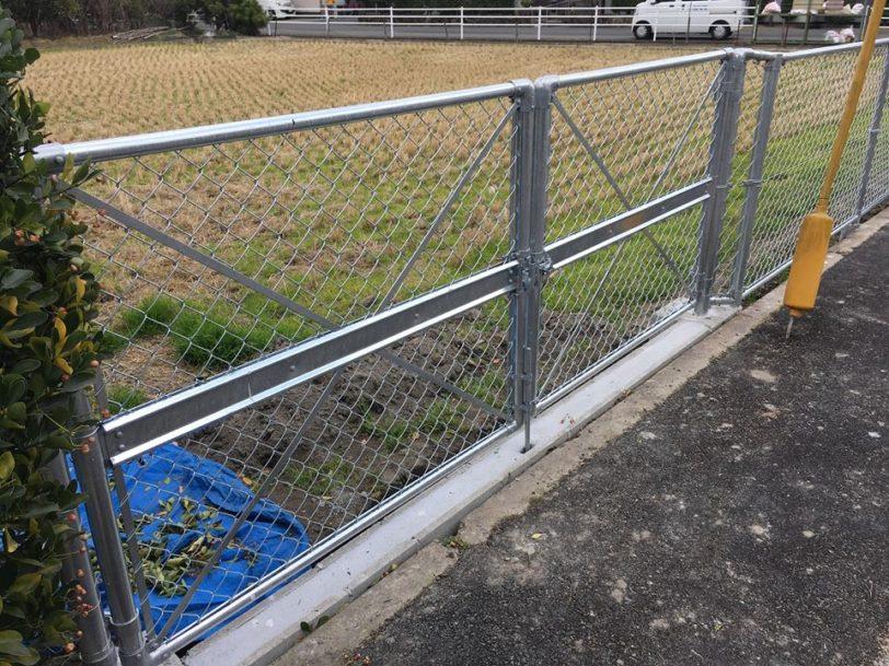 福山市フェンス網