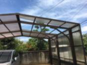 車庫屋根修理