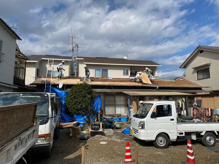福山市瓦葺き替え