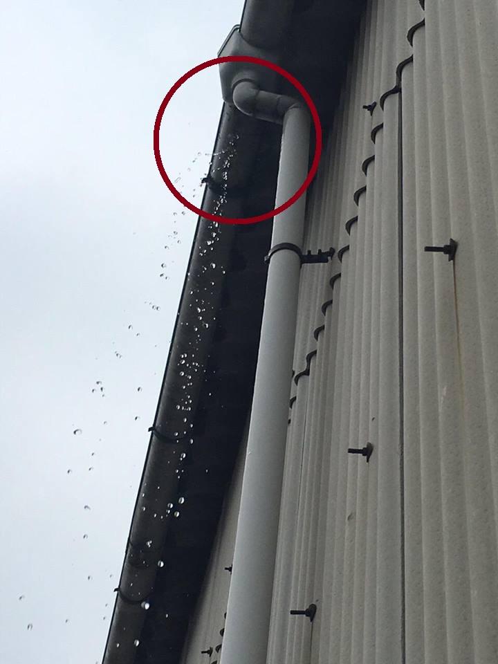 雨どい修理福山市