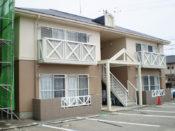 福山市アパート外壁塗装